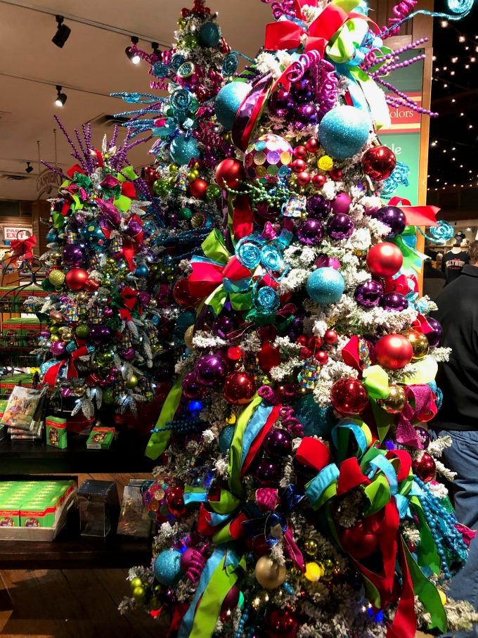Christmas Trees at Dollywood