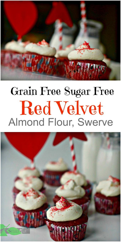 Grain Free Red Velvet Cupcakes