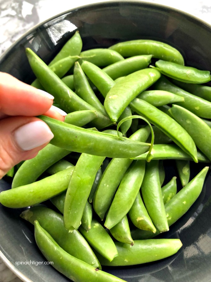 Raw Sugar Snap Peas
