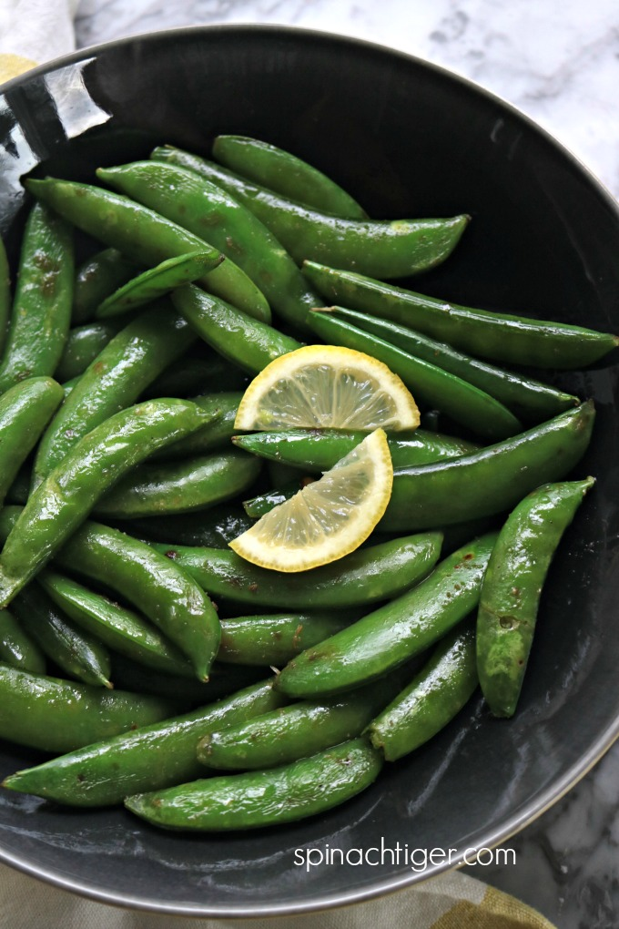 Easy Sugar Snap Peas Recipe