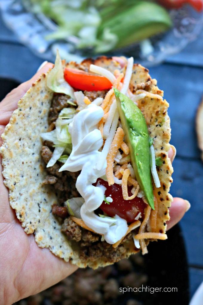 Ground Beef Keto Taco
