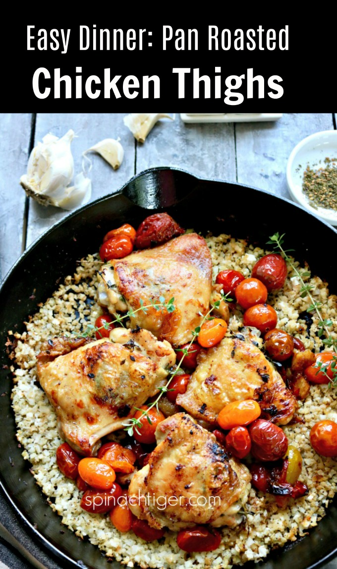 Easy Dinner Chicken Thighs