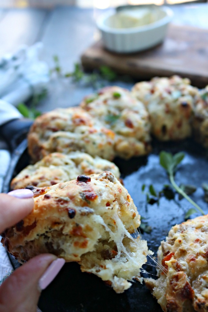 Melty Cheese Italian Biscuits