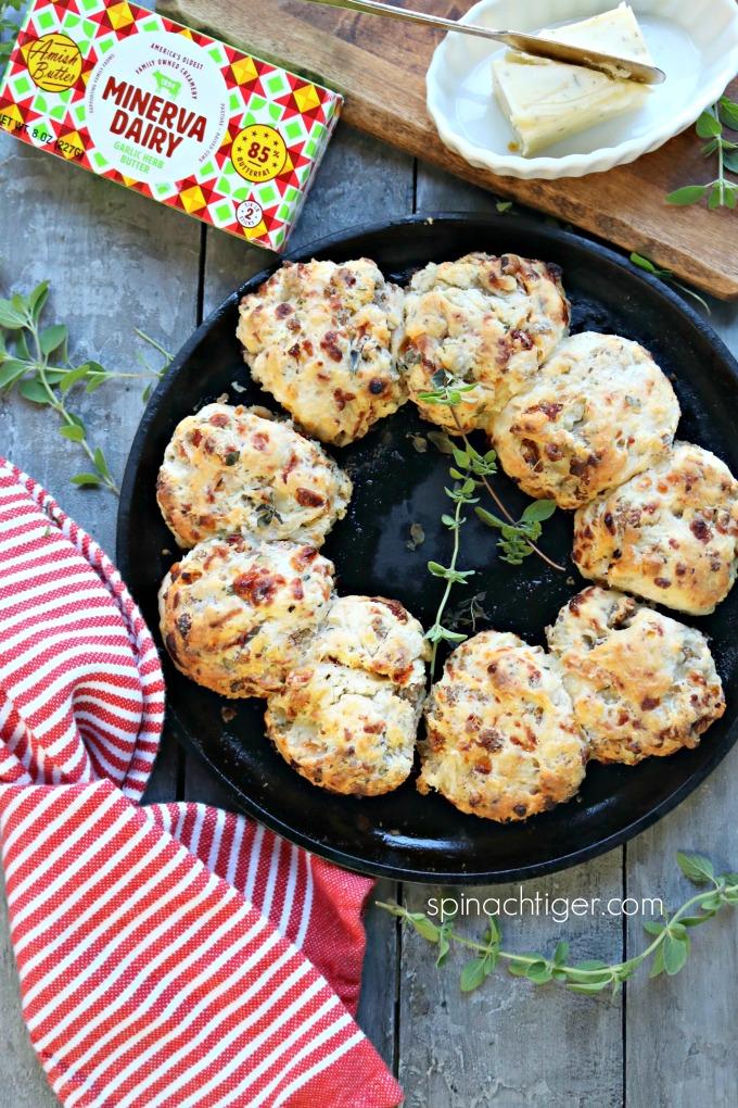 Italian Stuffed Biscuits