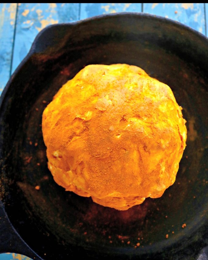 Buttered Smeared Turmeric Cauliflower