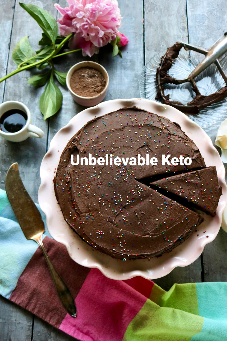 Keto Chocolate Cake - Using Almond Flour and Swerve, make the PERFECT CHOCOLATE CAKE. #ketochocolatecake #lowcarbchocolatecake #ketochocolate #paleochocolatecake #spinachtiger via @angelaroberts
