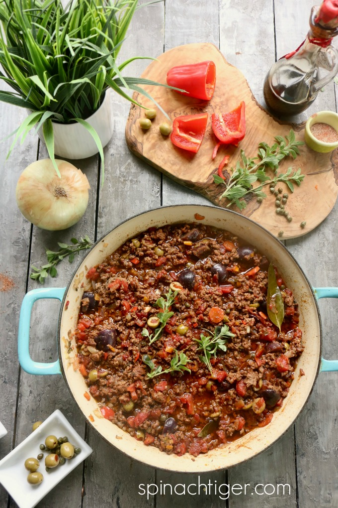 Cuban PIcadillo, great for rice or tacos