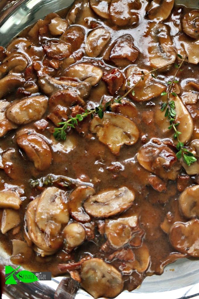 Steak Mushroom Sauce (for burgers, steaks)