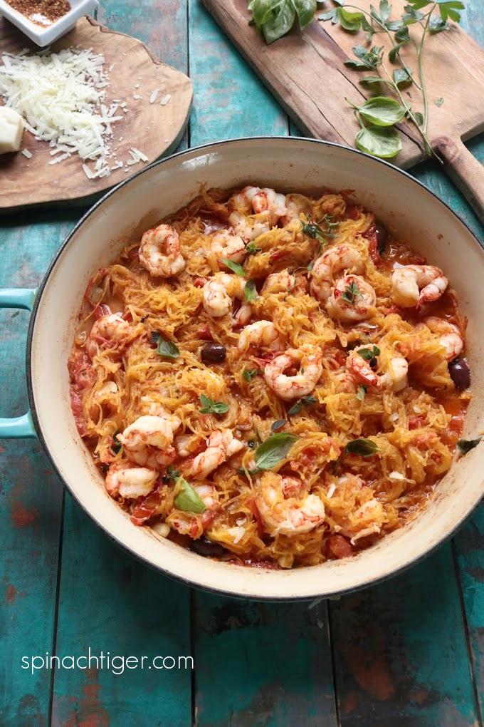 Delicious Shrimp with Spaghetti Squash Recipe