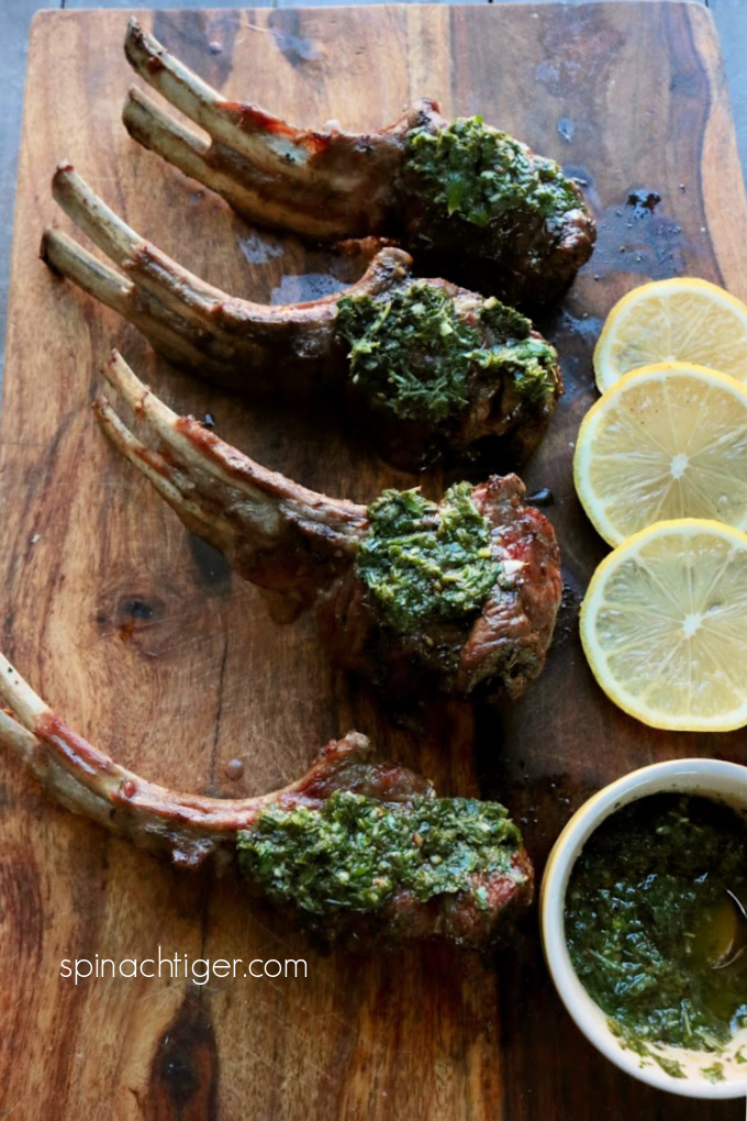 Grilled Lolly Pop Lamb Chops