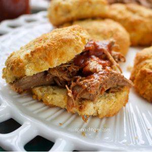 Pulled Pork on Biscuit