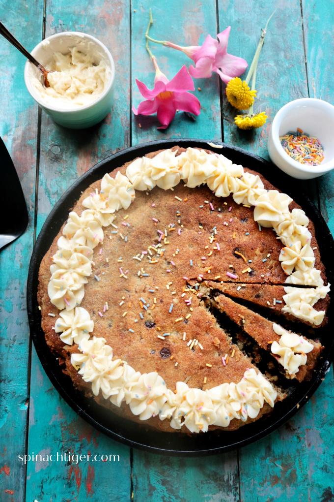 Keto Birthday Cookie Cake