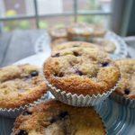 blueberry crumb muffin