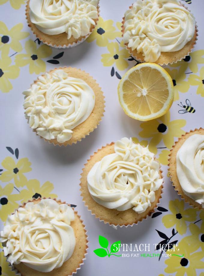 Keto Lemon with Lemon Cream Cheese Frosting