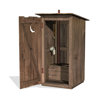 Constipation Outhouse