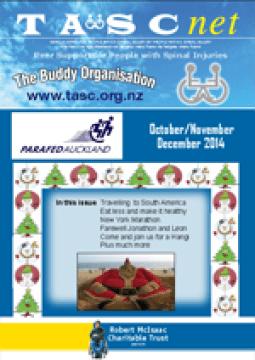 Cover of The TASC Net Newsletter December 2014- cover has 1 photos
