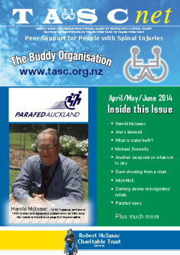 Cover of The TASC Net Newsletter June 2014- cover has 1 photos