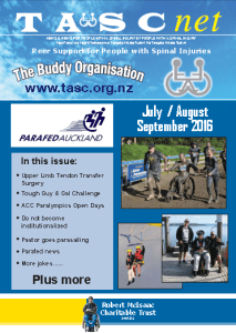 TASC NET Newsletter july -Aug - Sept 2016