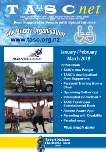 TASC january-february-march- Newsletter 2018