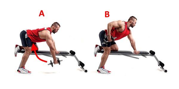 Tarikan pelbagai popular kerana ia menggunakan sejumlah besar kumpulan otot, termasuk extensor spin