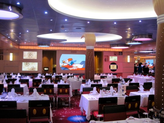 """Das Restaurant """"Animator's Palate"""" auf der Disney Fantasy"""