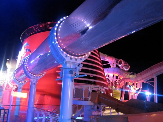 "Der Watercoaster ""Aqua Duck"" auf der Disney Fantasy"