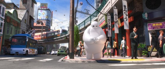 "Baymax und Hiro in Disneys neuem Animationsabenteuer ""Baymax: Riesiges Robowabohu"" (""Big Hero 6"")"