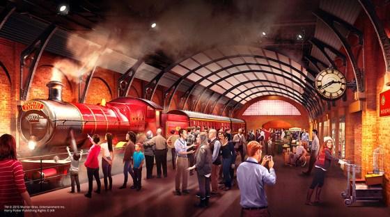 Der Hogwarts Express kommt ab März in die Warner Bros Studio Tour in London