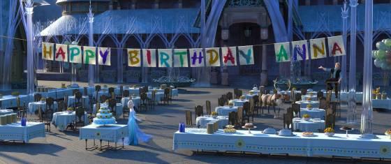 """Elsa im Disney-Kurzfilm """"Frozen Fever"""""""