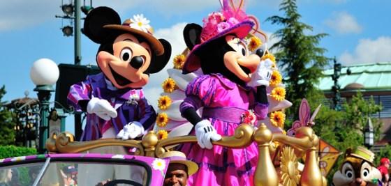 "Das ""Swing into Spring"" Festival im Frühling im Disneyland Paris"