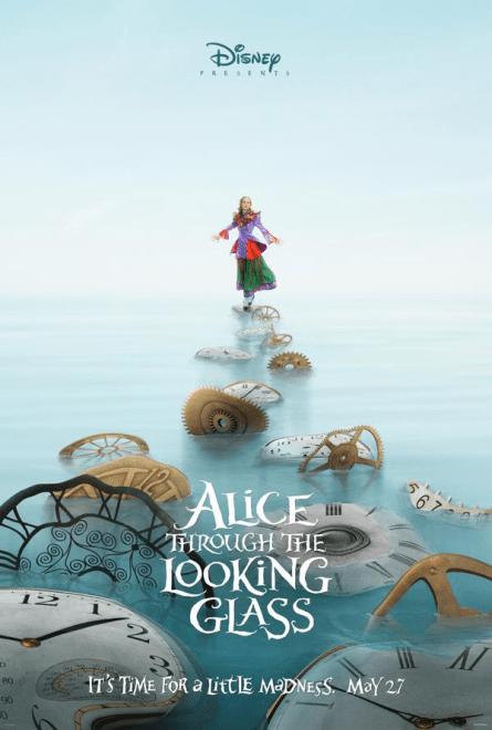 """D23 Expo 2015: Neue Details zu """"Alice Through The Looking Glass"""" veröffentlicht - Poster"""