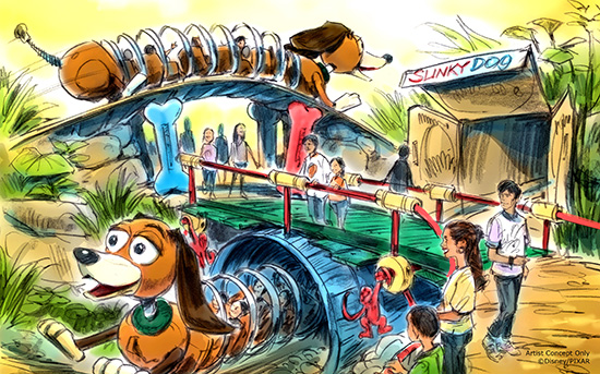 d23-expo-disney-toy-story-land-slinky-dog