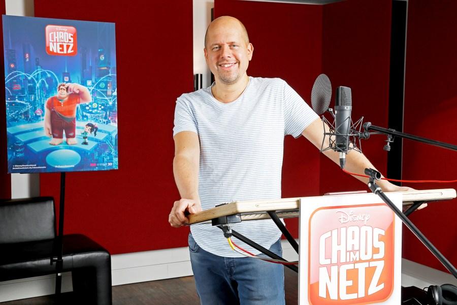 """Synchronarbeiten mit Ralph Ruthe zu Disney´s """"Chaos im Netz"""""""
