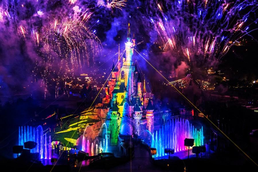 Disney Feuerwerk: Disney Dreams! in Disneyland Paris