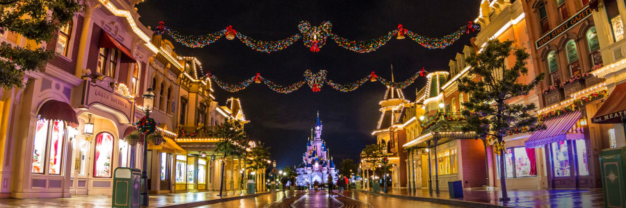Weihnachten in Disneyland und den Disney Parks