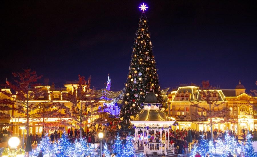 Weihnachten in Disneyland und den Disney Parks - Disneyland Paris