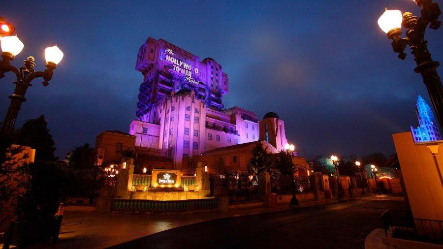 Tower of Terror in Disneyland Paris