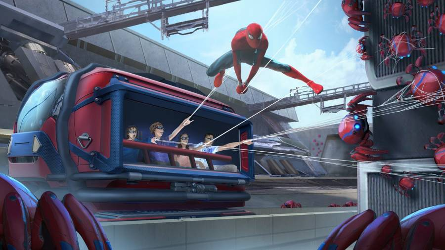 Avengers Campus in Disneyland: Web Slingers - a Spider-Man Adventure