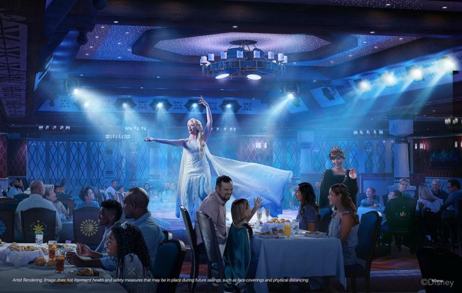 Das neue Disney Schiff: Disney Wish - Arendelle Restaurant
