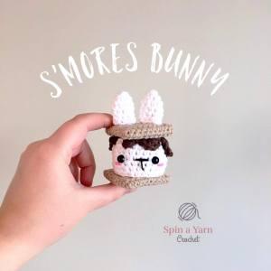 Crochet S'mores Bunny