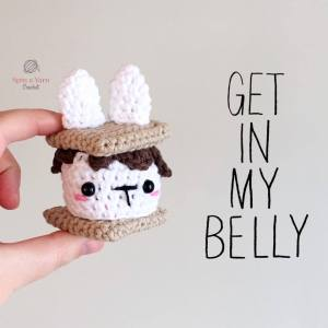 Crochet Smores Bunny