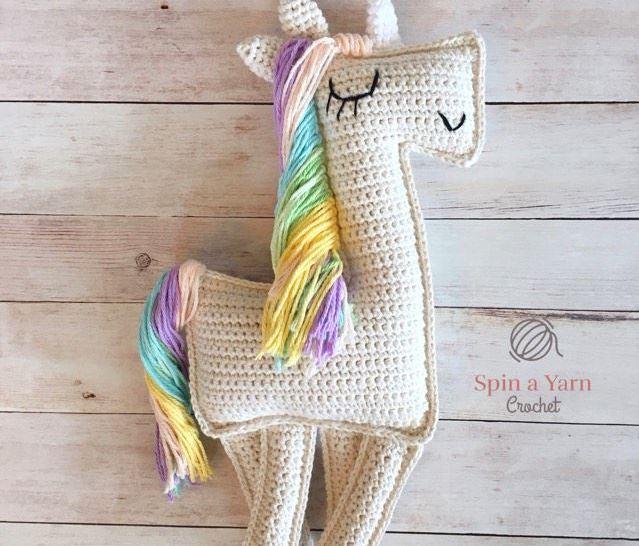 Ragdoll Unicorn Free Crochet Pattern • Spin a Yarn Crochet