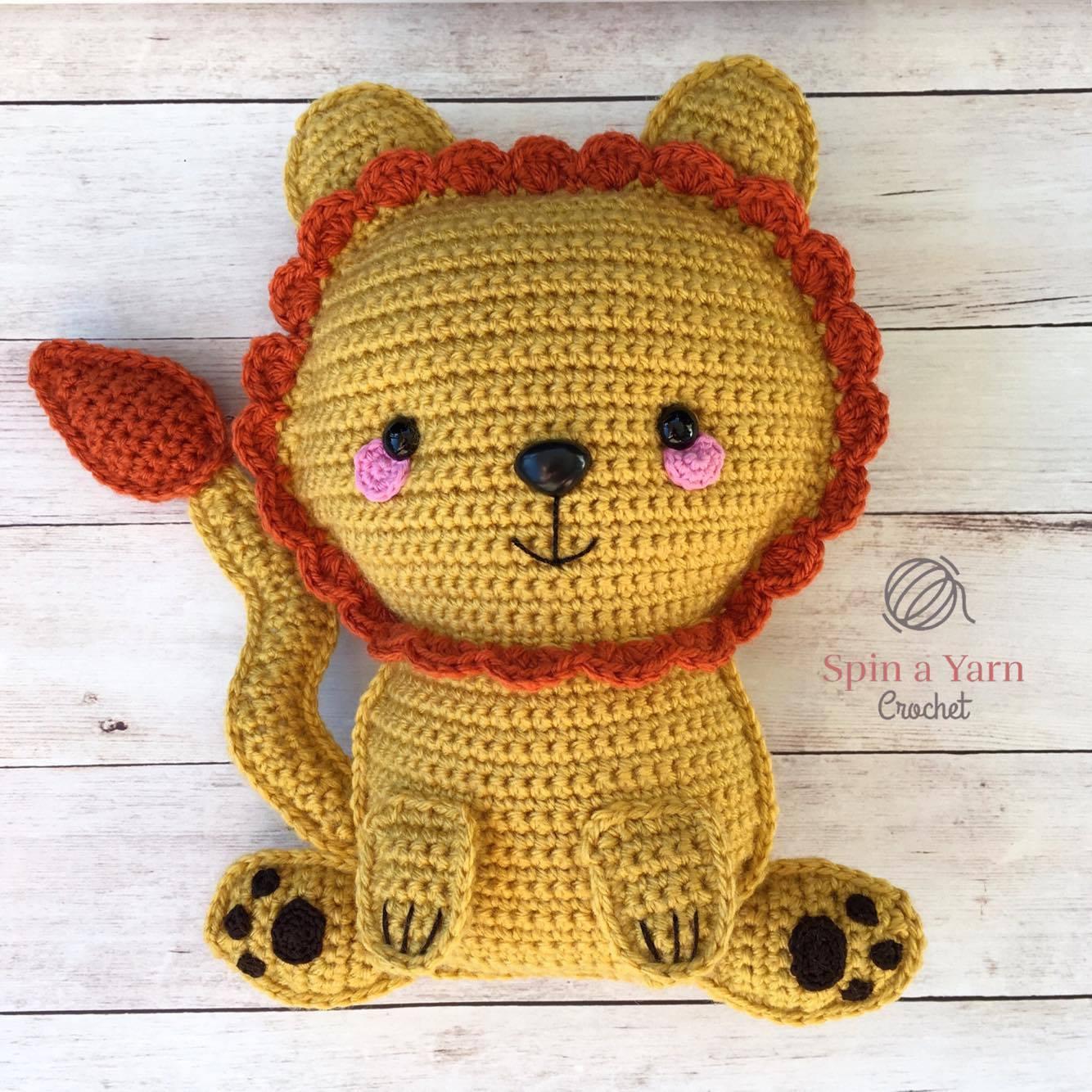 Amigurumi Lion Free Pattern : Amigurumi chick pattern crochet lion brand yarn