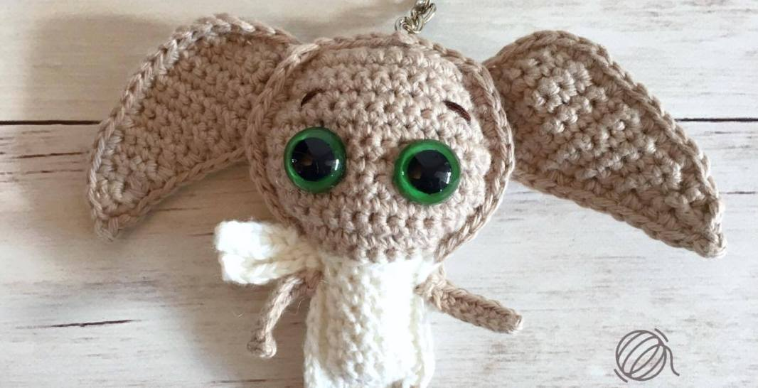 Dobby Keychain Free Crochet Pattern Spin A Yarn Crochet