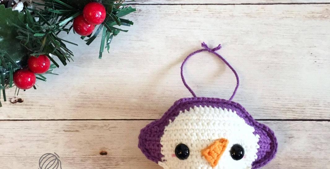 Snowman Ornament Free Crochet Pattern Spin A Yarn Crochet
