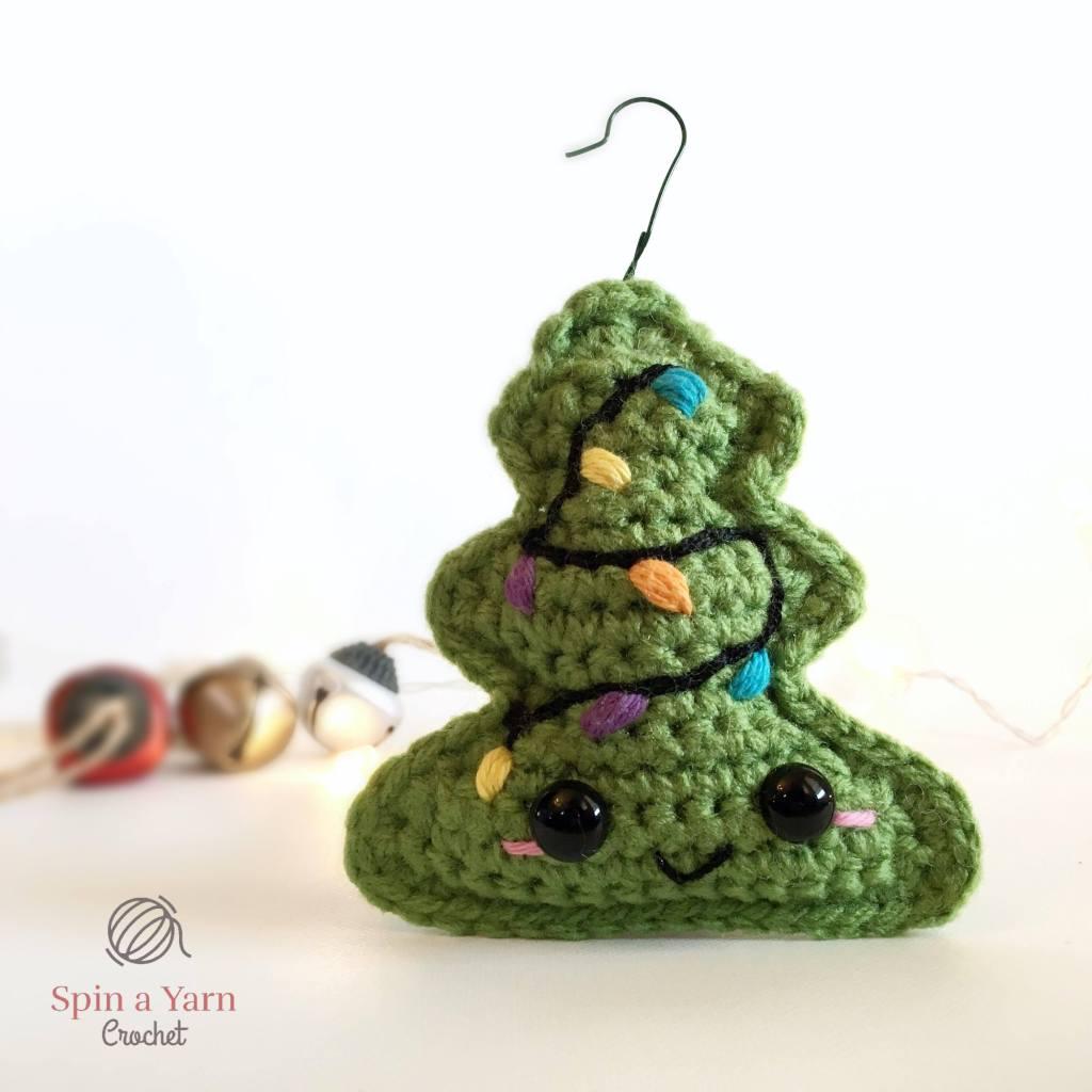 Green tree ornament
