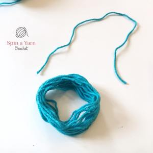 Loops of yarn