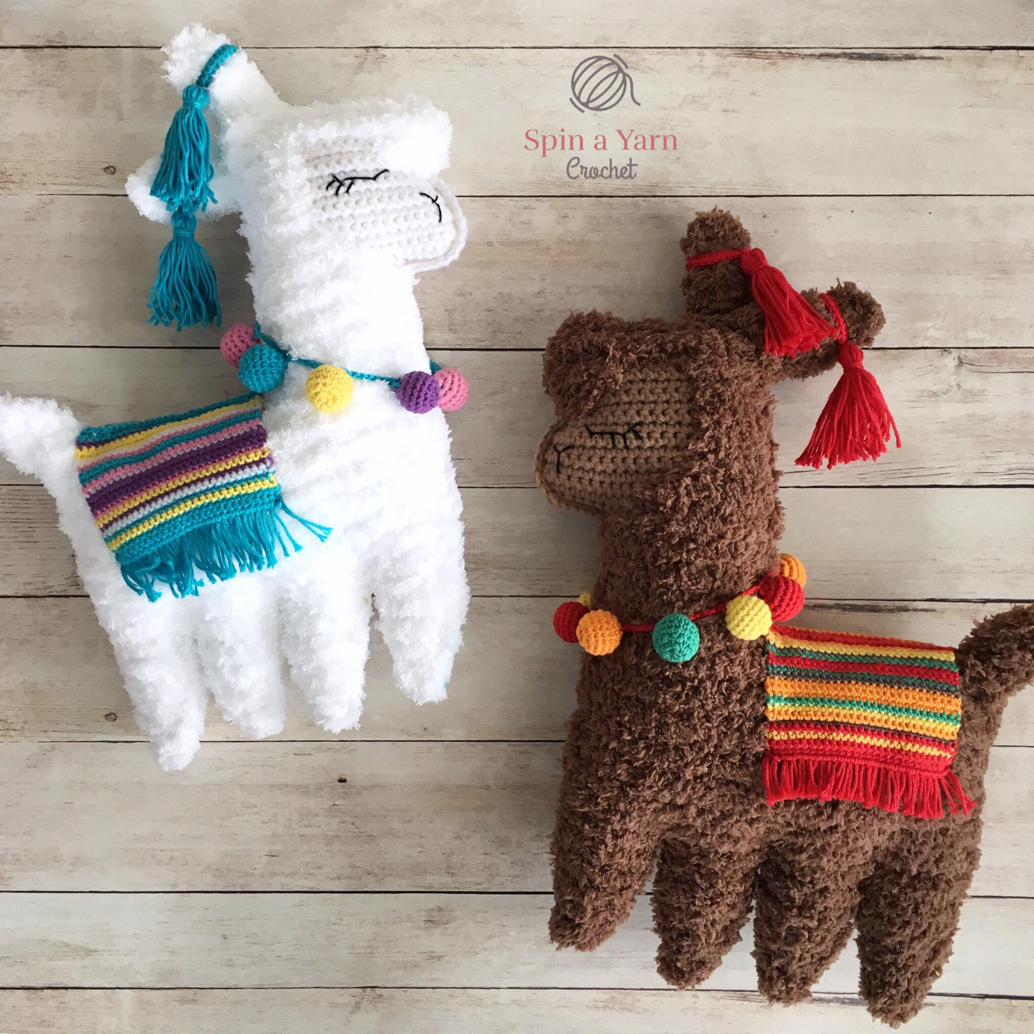 More Llama and Alpaca Crochet Patterns | Crochet patterns, Crochet ... | 2048x2048