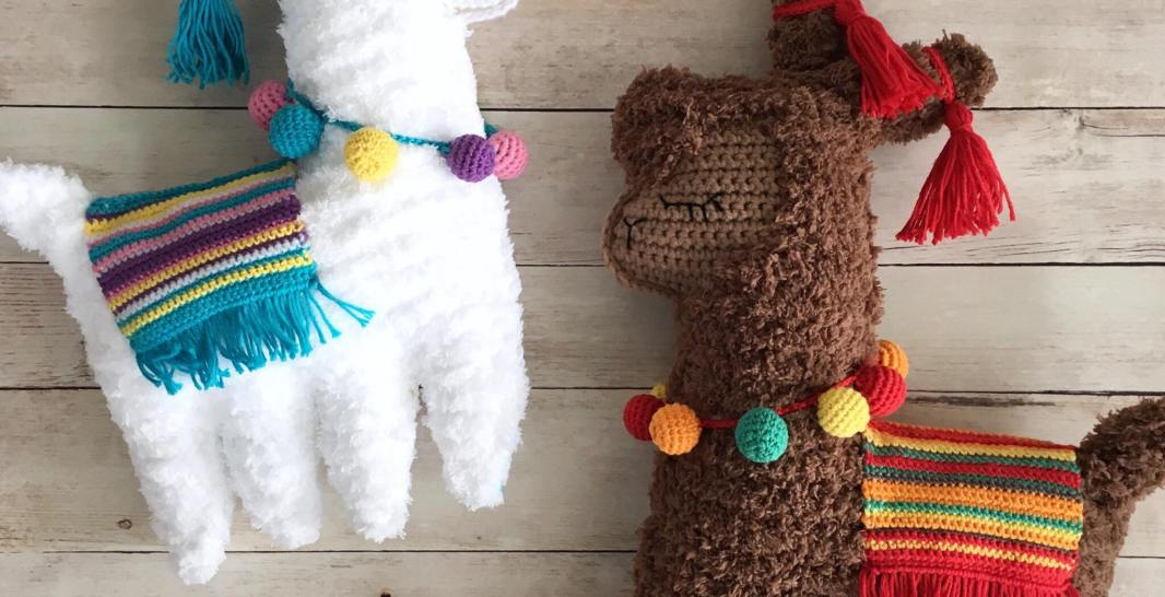 Ragdoll Llama Free Crochet Pattern • Spin a Yarn Crochet