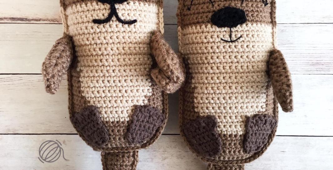 Amigurumi Otter Family Free Crochet Pattern • Spin a Yarn